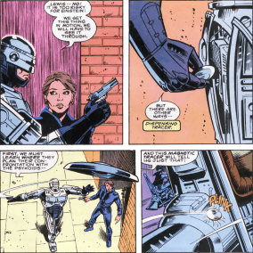 RoboCop #8-I'll Be Following You!