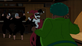Harley Quinn-Hi, Shrubby!