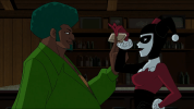 Harley Quinn-Thanks, Shrubby!