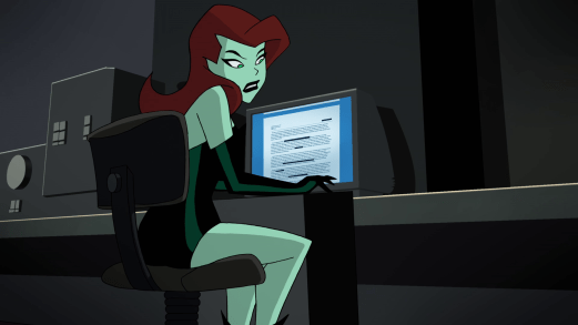 Poison Ivy-I'm Working Here!
