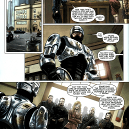 Dynamite's RoboCop #1-Fateful Meeting!
