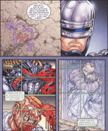 Frank Miller's RoboCop #5-That Seems Familiar!