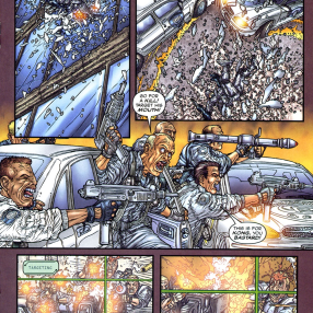 Frank Miller's RoboCop #7-Out Of The Frying Pan & Into The Gunfire!