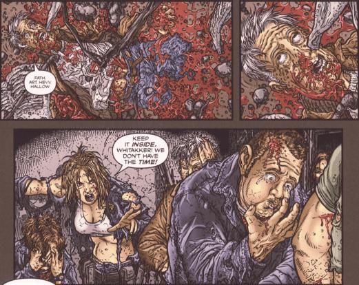 Frank Miller's RoboCop #8-He's Dead!