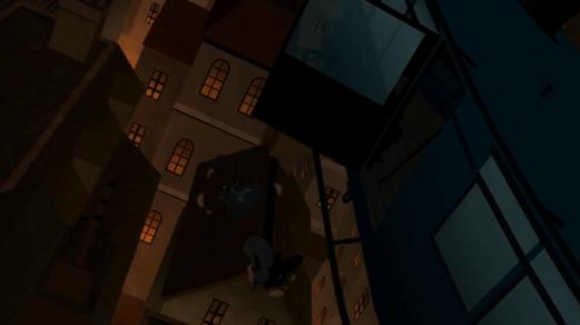 Batman-Not Too Bad Of A Fall!