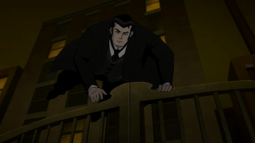 Bruce Wayne-Up And Over!