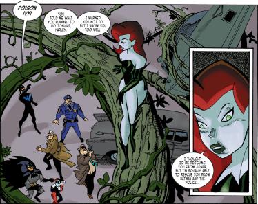 Harley Quinn & Batman #1-Natural Rescuer!