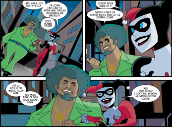 Harley Quinn & Batman #3-A Night Out With Shrubby!