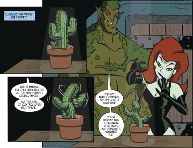 Harley Quinn & Batman #4-Perfect Control, Pamela!