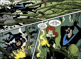 Harley Quinn & Batman #5-Rumble In The Mini-Jungle!