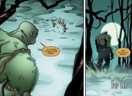 Batman & Harley Quinn #3-Len Knows The True Ruler Of The Green!
