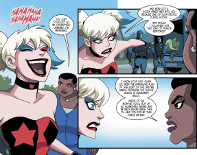 Batman & Harley Quinn #7-Waller's Personal Recruitment!