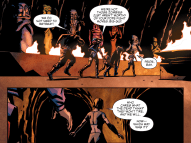 Suicide Squad #10-Fork In The Underground Passage!