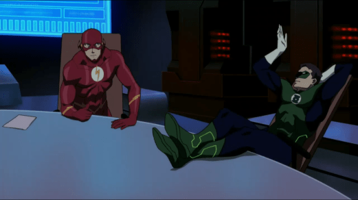 Flash & Green Lantern-Bold & Brave!