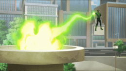 Green Lantern-Spark The Eternal Flame!