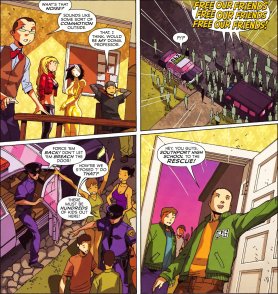 Big Hero 6 #5-Unexpected Help From Newfound Allies!