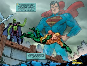 D.O.S. Issue #11-Superman Will Always Be A Part Of The Family!