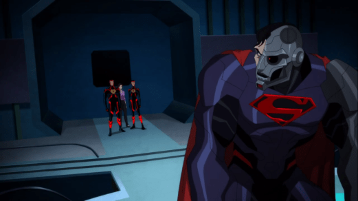 Cyborg Superman-Transmission Interrupted For An Important Meeting!