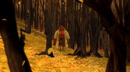 Hellboy-Strolling Along!