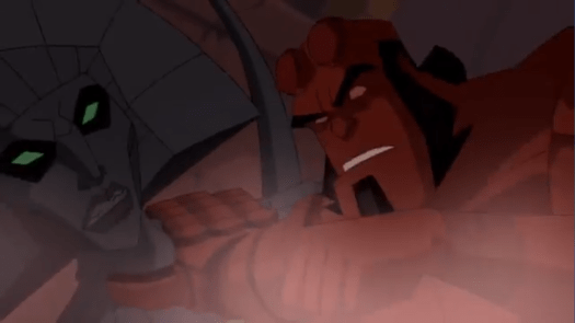 Hellboy-A Fierce Fight With A Goddess!