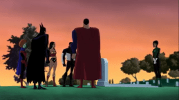 Justice League-Solemn Salute To Star Boy!