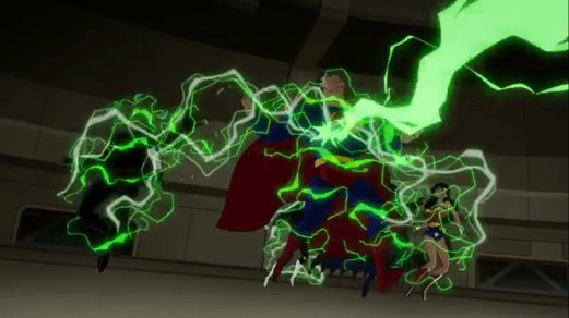 Justice League-Stunned!