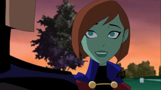 Miss Martian-I'm A Team Member!