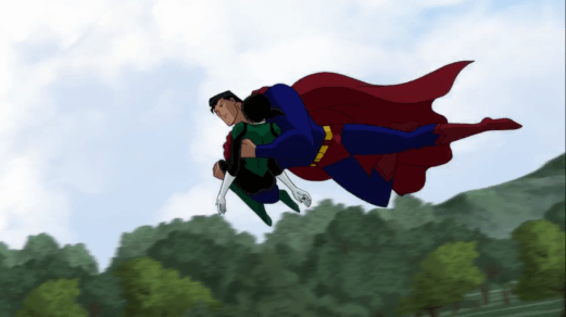 Superman-Fully-Recovered For A Full-On Rescue!