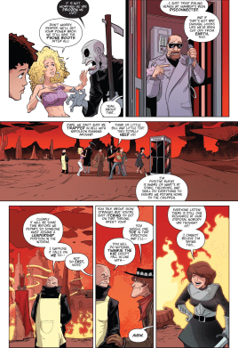 Bill & Ted Go To Hell #3-Time Booth's A Huge No-Go!