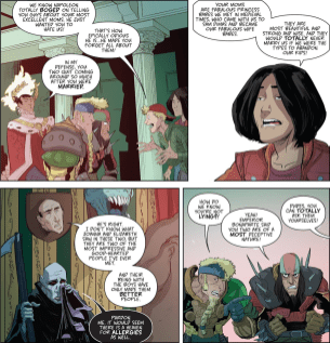 Bill & Ted Go To Hell #4-Continued Convincing!