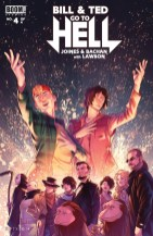 Bill & Ted Go To Hell #4 Cover!
