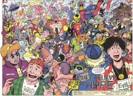 Excellent Comic #10-Regular Chaos In Hyperworld!