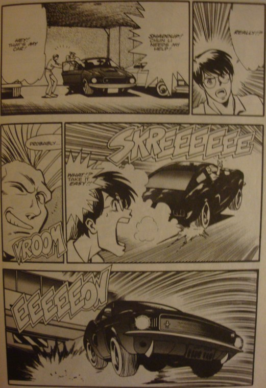 Street Fighter II #4-I Need Your Car!