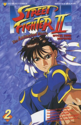 C Cubed Comic Review Street Fighter Ii The Animated Movie The