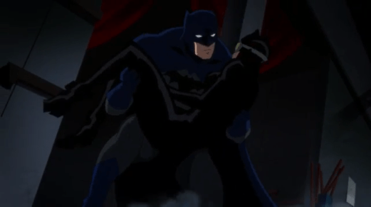 Batman-Another Timely Save!