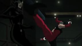 Harley Quinn-High Kicks Up Top!