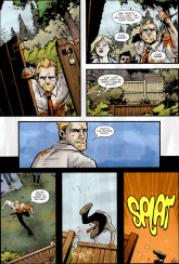 Shaun Of The Dead #3-A Fence To Flop On!