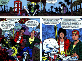 Excellent Comic #2-Please Come Back, Grim Reaper!
