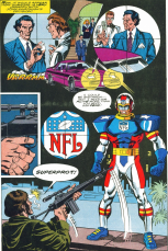 NFL SuperPro #1-Shot Interrupted!