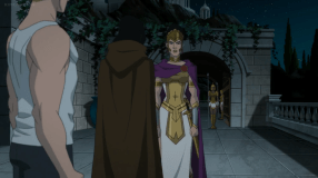 Hippolyta-You're In Deep Trouble, Diana!