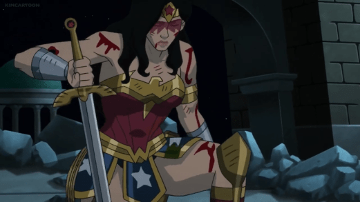 Wonder Woman-I Can't See You, But I Can Hear You!
