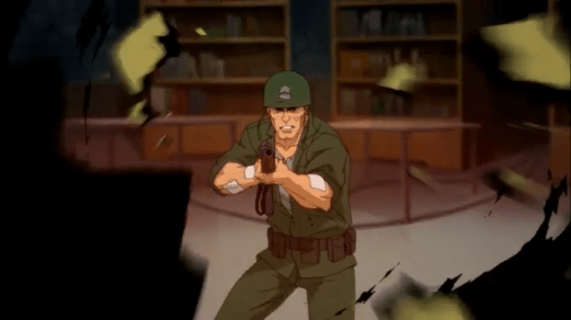 Sgt. Rock-Boom, Headshot!