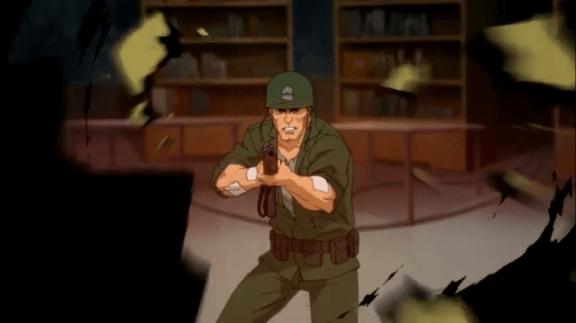 Sgt. Rock-Boom, Headshot!