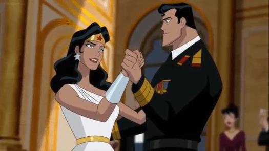 Wonder Woman-Your Communist View Intrigues Me, Superman!