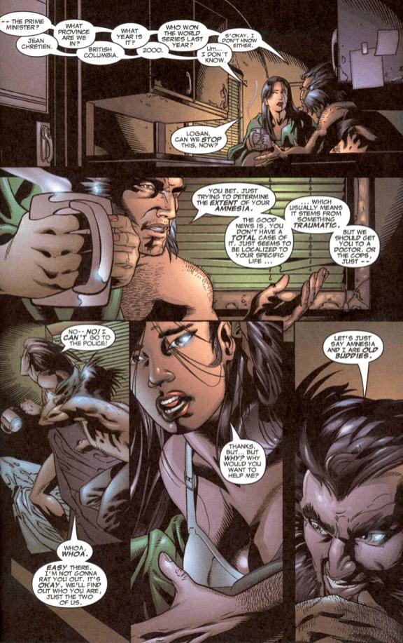 Wolverine Prequel-Amnesia Buddies!