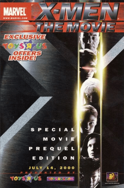 X-Men Movie-Special Movie Prequel Edition! Toys R Us!