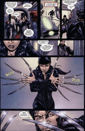 X2 Movie Adaptation-A Clash Of Adamantium Blades!