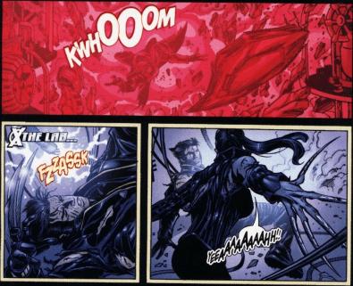 X2 Movie Adaptation-Explosive Clashing!