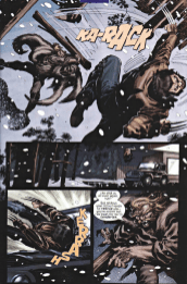 X2 Prequel Wolverine-Sabretooth's Grand Slam!