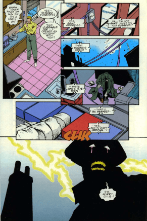 Darkman #4-Wire-Tapping For A Woman!